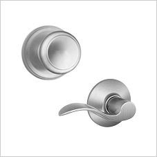 Replace your door knobs or lever handles.
