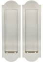Inox Pocket Door Dummy Pair, FH31 Regal Flush Pull