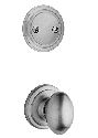 Kwikset 606AO-15 Aliso Interior Dummy Handleset INTERIOR TRIM ONLY Satin Nickel Finish