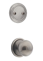 Kwikset 606CA-15AGC Circa Interior Dummy Handleset INTERIOR TRIM ONLY  Antique Nickel Finish