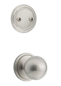 Kwikset 606CA-15GC Circa Interior Dummy Handleset INTERIOR TRIM ONLY  Satin Nickel Finish