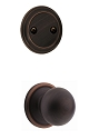 Kwikset 606CA-11PGC Circa Interior Dummy Handleset INTERIOR TRIM ONLY  Venetian Bronze Finish