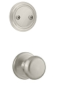 Kwikset 606H-15GC Hancock Interior Dummy Handleset INTERIOR TRIM ONLY  Satin Nickel Finish