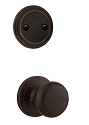 Kwikset 606H-11PGC Hancock Interior Dummy Handleset INTERIOR TRIM ONLY  Venetian Bronze Finish