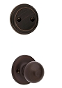 Kwikset 606P-11PV1 Polo Interior Dummy Handleset INTERIOR TRIM ONLY  Venetian Bronze Finish