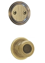 Kwikset 606T-5 Tylo Interior Dummy Handleset INTERIOR TRIM ONLY Antique Brass Finish