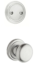 Kwikset 606H-26DGC Hancock Interior Dummy Handleset INTERIOR TRIM ONLY  Satin Chrome Finish