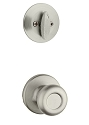 Kwikset 604T-26DV1 Tylo Signature Series Interior Single Cylinder Handleset INTERIOR TRIM ONLY  Satin Chrome Finish