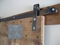 Leatherneck Single Barn Door Kit - Unfinished - 402 Hanger Style