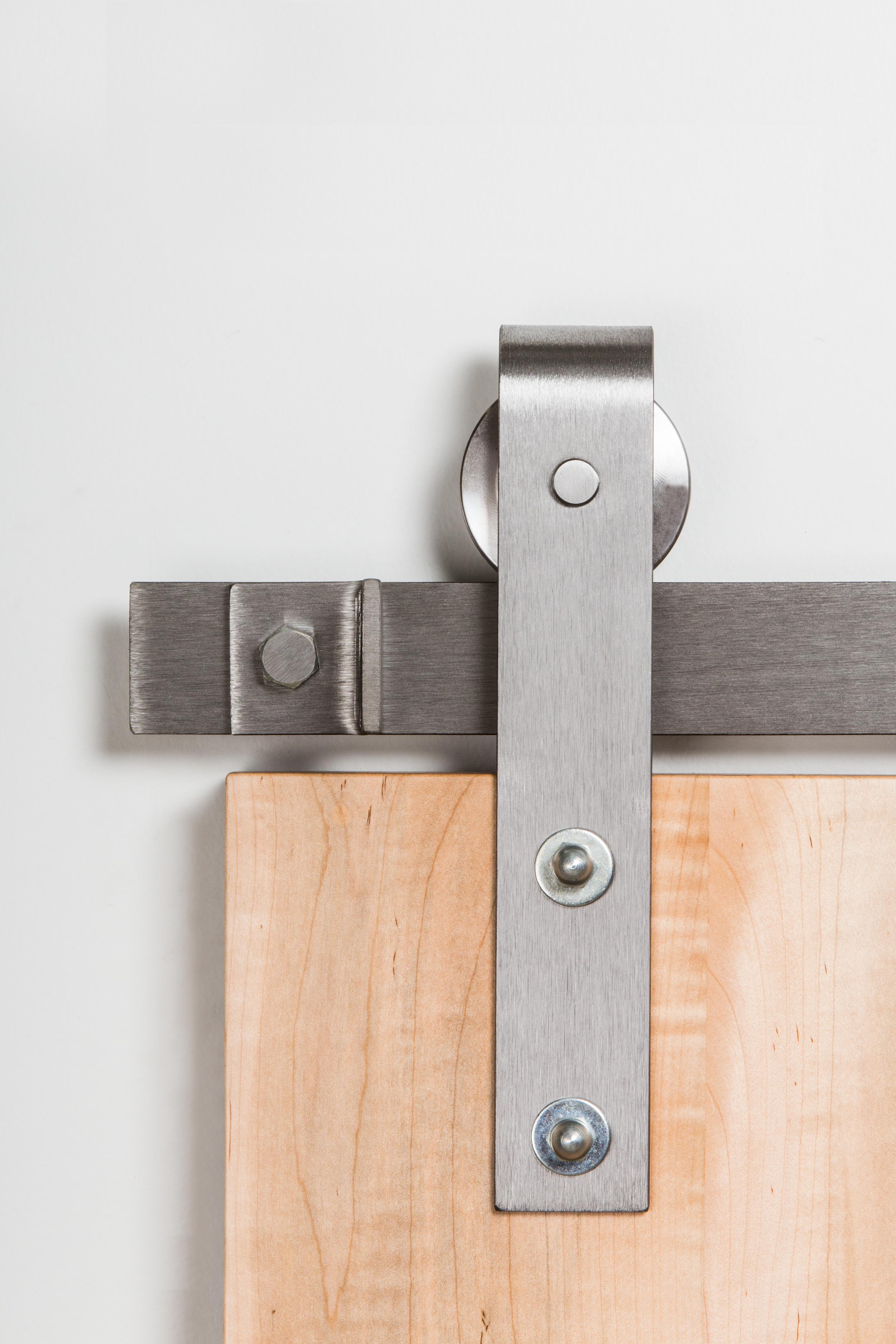 Leatherneck 402 Straight Style Barn Door Track Hanger Direct Door Hardware