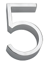 Linnea 5 Inch House Number - 5