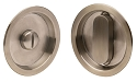 Linnea Standard Bore Pocket Door Lock - Round Style