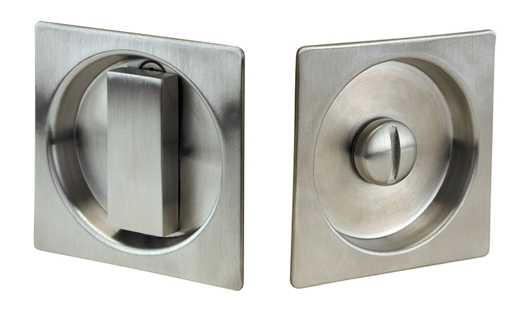 Linnea Modern Square Style Pocket Door Lock