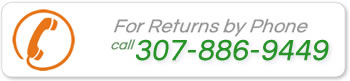 Returns at Direct Door Hardware is Easy - just give us a call for a return label.