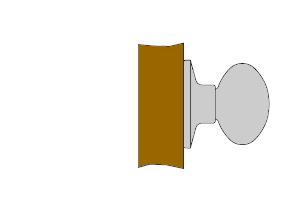 Schlage F170 Dummy knob Function