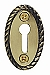 Nostalgic Warehouse Rope Keyhole Cover