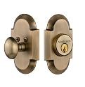 Nostalgic Warehouse Cottage Single Cylinder Deadbolt