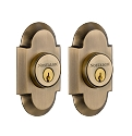 Nostalgic Warehouse Cottage Double Cylinder Deadbolt