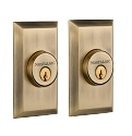 Nostalgic Warehouse Studio Double Cylinder Deadbolt