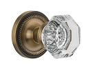 Nostalgic Warehouse Rope Rosette with Waldorf Knob - Mortise Lock