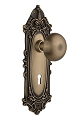 Nostalgic Warehouse Victorian Plate with New York Knob - Mortise Lock
