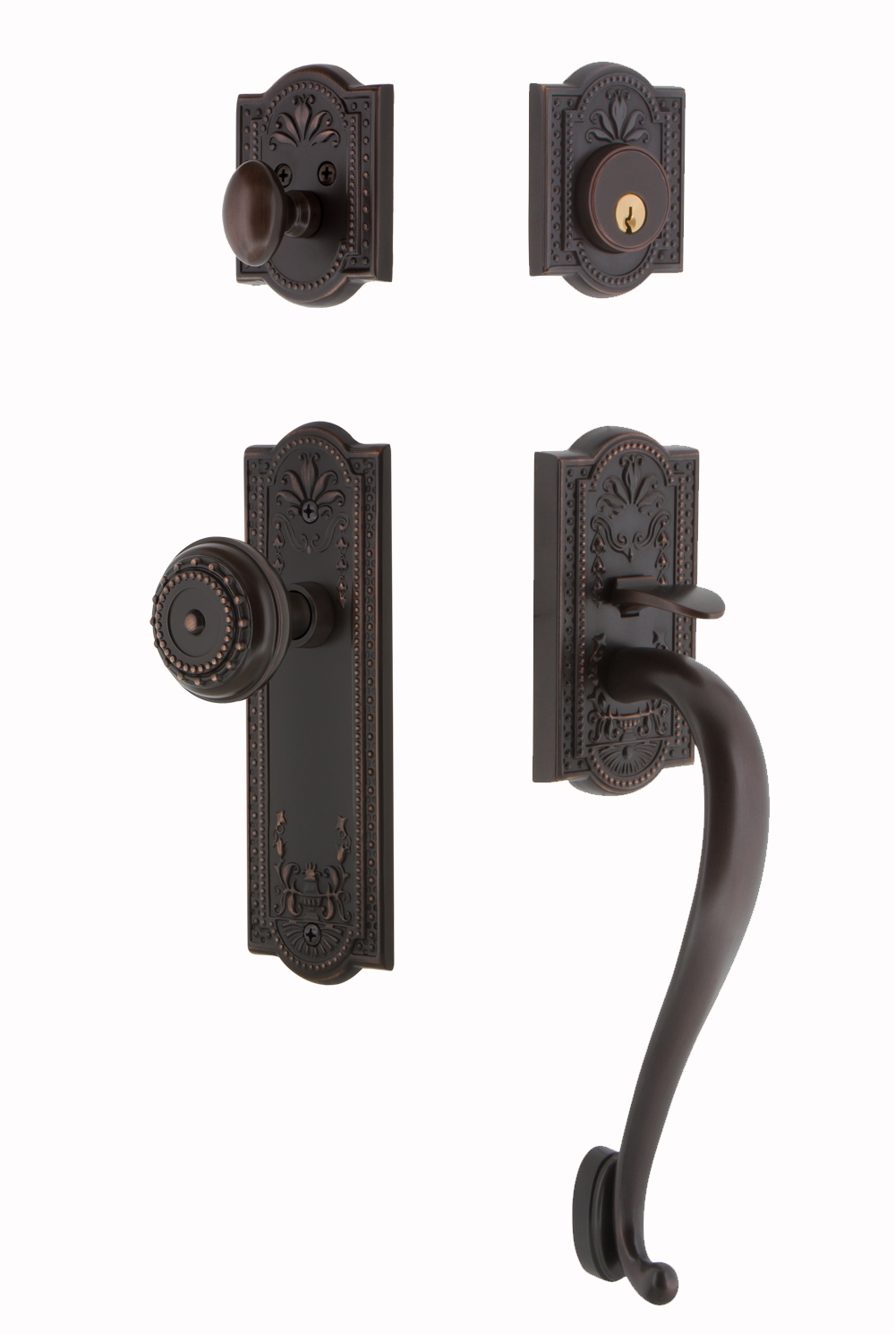 Nostalgic Warehouse Meadows Handleset with S Grip