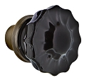 Nostalgic Warehouse Black Crystal Knobs ONLY with Spindle