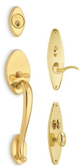 Omnia Mortise Handleset - Estate