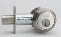 Omnia Stainless Steel Double Cylinder Deadbolt Style D9002