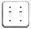 Omnia Traditional Double SwitchPlate