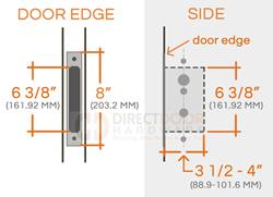 Emtek Door Hardware Emtek Stainless Steel Mormont