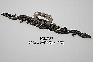 Residential Essentials 10227 Cabinet Pull in Aged Pewter