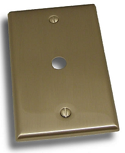 Residential Essentials Single Cable Plate