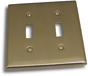 Residential Essentials Double Switch Plate