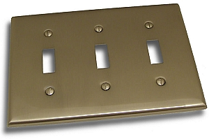 Residential Essentials Triple Switch Plate