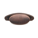 Rusticware 3 Inch CC Cup Pull - Distressed Copper