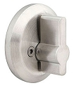 Emtek Round Stainless Steel Single Sided Deadbolt