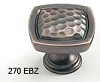 Schaub Empire Bronze Square Knob 270-EBZ
