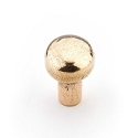 Schaub Cast Bronze Mountain 1 3/8 inch Round Knob in Natural Bronze