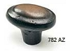 Schaub Antique Bronze Oval Knob 782-AZ