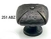 Schaub Ancient Bronze Square Knob 251-ABZ