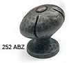 Schaub Ancient Bronze Oval Knob 252-ABZ