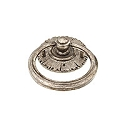 Schaub Sunburst Ring Pull in Antique Silver