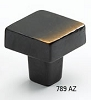 Schaub Antique Bronze Square Knob 789-AZ
