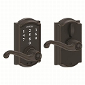 Schlage FE695 Camelot with Flair Lever Keyless Touch Entry Auto-Lock