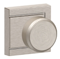 Schlage Bowery Knob with Upland Rosette