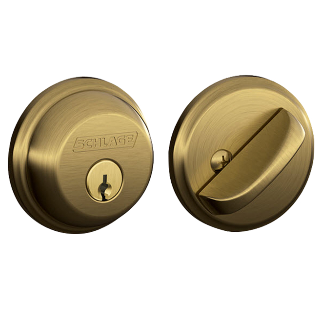 Schlage Single Cylinder Deadbolts Door Locks B60