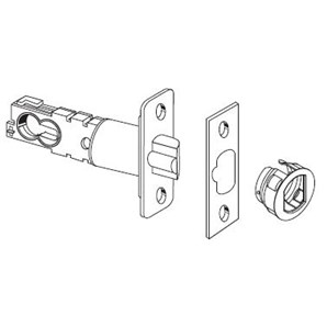 Schlage Adjustable Backset Deadlatch for Residential F Series Locks