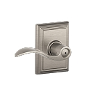 Schlage Accent Lever with Addison Rosette