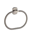 Smedbo Cabin Towel Ring - Brushed Nickel